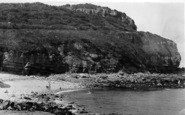 Benllech Bay, Creek Beach c.1935