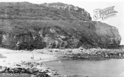 Benllech Bay, Creek Beach c.1935