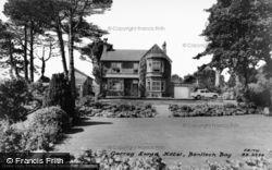 Benllech Bay, Garreg Lwyd Hotel c.1960, Benllech