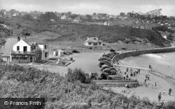 Benllech Bay, General View c.1950, Benllech