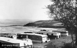 Benllech Bay, Golden Sunset Caravan Park c.1965, Benllech