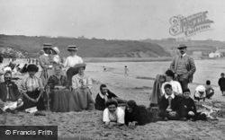 Benllech Bay, On The Beach c.1900, Benllech