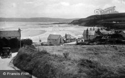 Benllech Bay, Shore Road c.1935, Benllech
