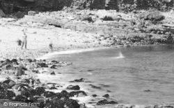 Benllech Bay, Stone Skimming c.1935