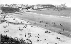 Benllech Bay, The Beach And Headland c.1960