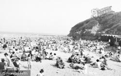 Benllech Bay, The Beach c.1955