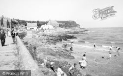 Benllech Bay, The Beach c.1960