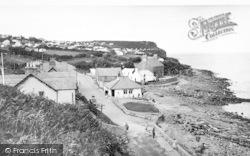 Benllech Bay, The Cliffs c.1955