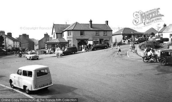 Benllech Bay, The Crossroads c.1960