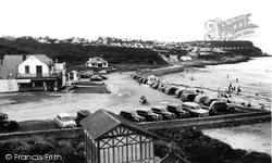 Benllech Bay, The Lido Cafe c.1955