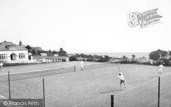 Benllech Bay, The Tennis Courts c.1960