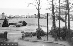 Benllech Bay, View From The Breeze Hill Hotel c.1955