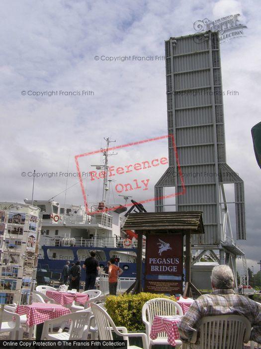 Photo of Bénouville, The Pegasus Bridge From A Cafe 2008