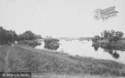 Benson, Bensington Lock And Weir 1890