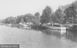 Benson, Riverside Moorings c.1955