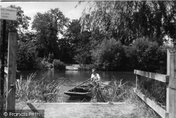 Benson, The Ferry To The Lock c.1955