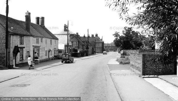 Benson, the High Street c1960