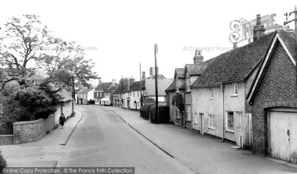 Benson, the Village c1965