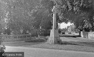 Benson, The War Memorial c.1955