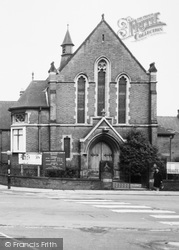 Bentley, Central Methodist Church c.1970