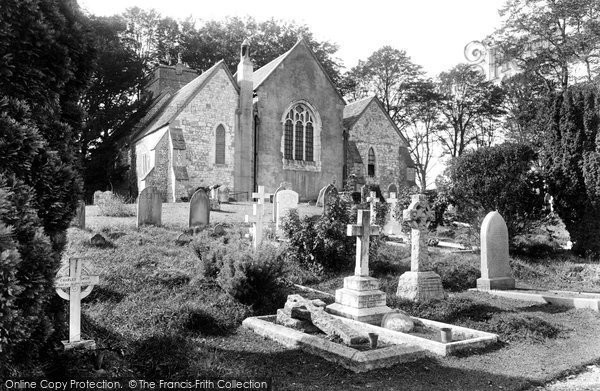 Photo of Bentley, St Mary's Church 1929