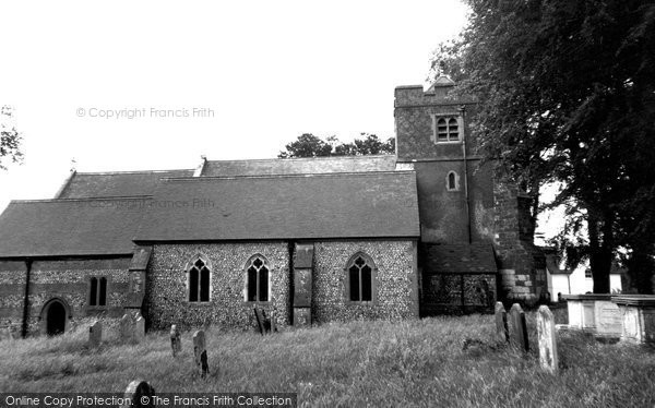 Photo of Bentley, St Mary's Church c.1955