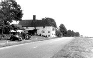 Bentley, the Bull Inn c1955