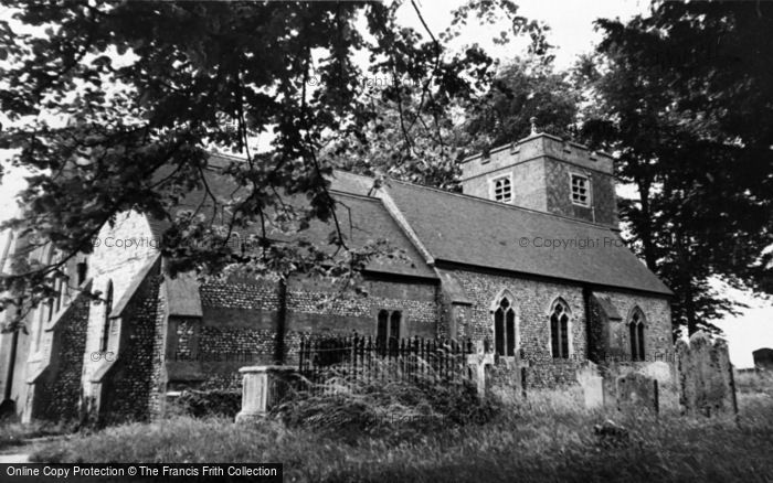 Photo of Bentley, The Church c.1955