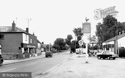 Bentley, The Village c.1955