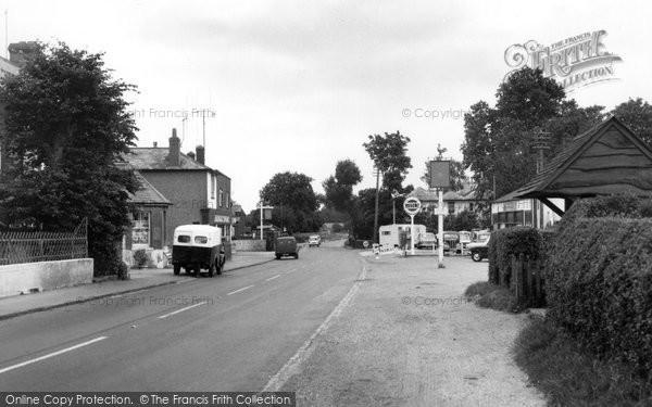 Photo of Bentley, The Village c.1955