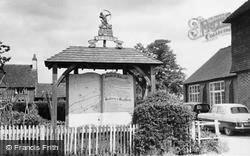 Bentley, The Village Sign c.1955
