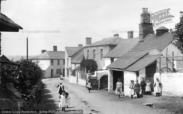 Bere Alston, Street 1898