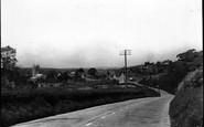 Bere Regis, From Poole Hill c.1950