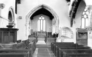Bere Regis, St John The Baptist Church Interior c.1960