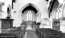 Bere Regis, St John The Baptist Church Interior c.1960