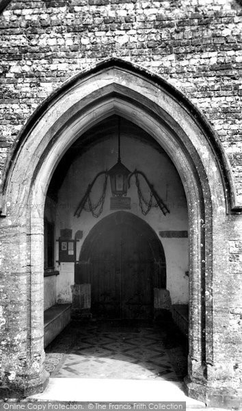 Bere Regis, The Church Door c.1965
