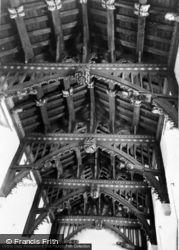 The Church Roof c.1965, Bere Regis