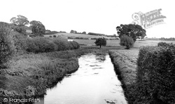 Bere Regis, The River Bere, Southbrook c.1955