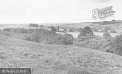 Bere Regis, View From Blackhill c.1955