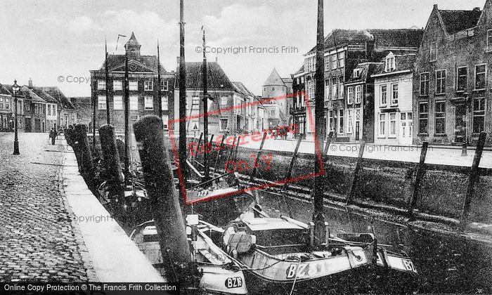 Photo of Bergen Op Zoom, Haven c.1935
