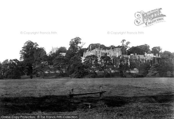 Berkeley, Castle From Meadows 1904