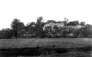Berkeley, Castle from meadows 1904