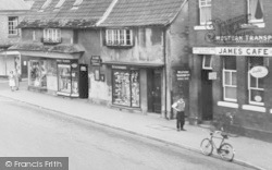 Berkeley, Shops, Market Place c.1960