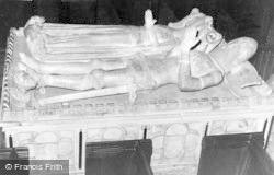 Berkeley, St Mary's Church, Tomb Of Thomas Berkeley c.1935
