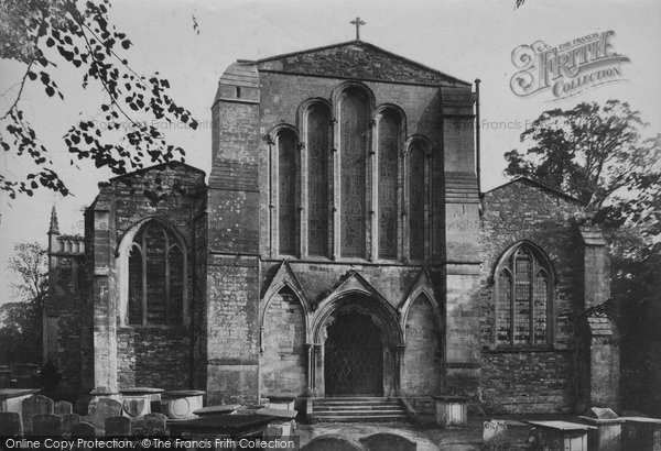 Berkeley, St Mary's Church West Front 1904