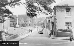 Berkhamsted, Castle Street c.1950