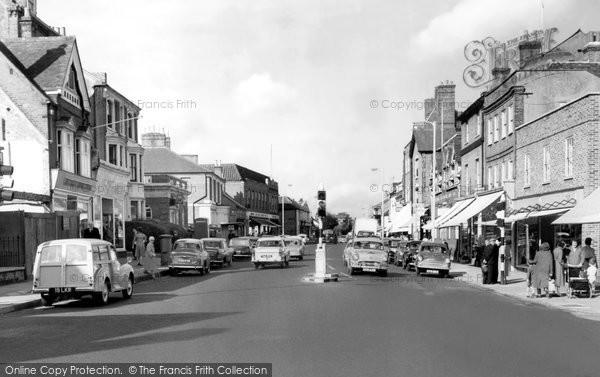Berkhamsted, High Street c.1955