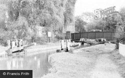 Berkhamsted, Kings Road Lock, Grand Union Canal c.1960