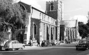 Berkhamsted, St Peter's Church c1960