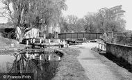 Berkhamsted, The Canal And Lock c.1965